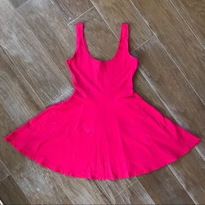 Sparkle and Fade Urban Outfitters Hot Pink Dress